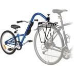 Burley Kazoo Single Speed Trailercycle: Blue