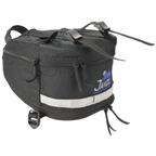 Jandd Mountain Wedge 3 Seat Bag: Black