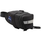 Jandd Mountain Wedge 2 Seat Bag: Black