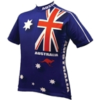 World Jerseys Australia Cycling Jersey: Blue