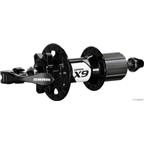 SRAM X.9 6-Bolt Disc Rear 28H Black w/ QR Skewer