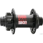 DMR Convertible Front 20mm Disc Hub 36h Black