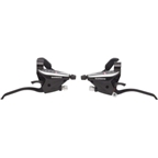 Shimano EF65 3 x 9 speed Flat Bar Brake/Shift Lever Set  Black