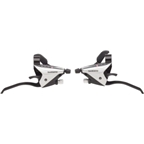 Shimano EF65 3 x 9 speed Flat Bar Brake/Shift Lever Set  Silver