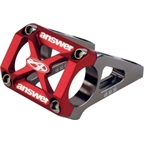 Answer DH Direct Mount Stem 45, 50, 55mm Offset Red
