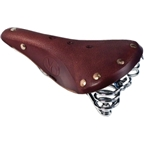 Velo Orange Mod 5 Tour Sprung Saddle 175x285mm Brown