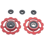 CeramicSpeed Pulley Wheels, Shimano 9/10 Speed - Red
