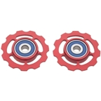 CeramicSpeed Pulley Wheels, SRAM 9/10 Speed - Red