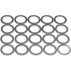 Wheels Manufacturing 1.2mm Alloy Chainring Spacer bag/20