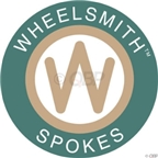 Wheelsmith 2.0 x 310mm Black Spoke Blanks. Bag of 50.