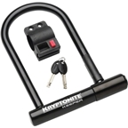 "Kryptonite Keeper Standard U-Lock: 4"" x 9"""