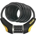 OnGuard Doberman Combo Cable Lock: 6' x 10mm