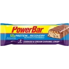 PowerBar Recovery: Caramel Cookies & Cream; Box of 15