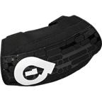 SixSixOne Riot Protective Elbow Pad: Black