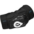 SixSixOne Rage Protective Elbow Pad: Black