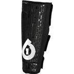 SixSixOne Riot Protective Shin Pad Medium, Black
