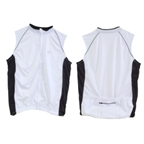 Origin8 TechSport Sleeveless Cycling Jersey - White