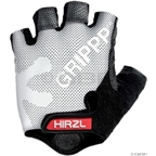 Hirzl Grippp Tour Short Finger Gloves: White