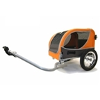 Croozer Mini Utility/Pet Trailer 45lbs Capacity Orange-Sand