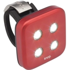 Knog Blinder 4 Dots USB-Rechargeable Safety Light: White LED; Red