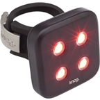 Knog Blinder 4 Dots USB-Rechargeable Safety Light: Red LED; Black