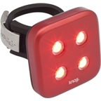 Knog Blinder 4 Dots USB-Rechargeable Safety Light: Red LED; Red