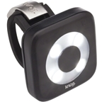 Knog Blinder 4 Circle USB-Rechargeable Safety Light: White LED; Black