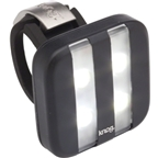 Knog Blinder 4 Stripe USB-Rechargeable Safety Light: White LED; Black