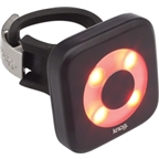 Knog Blinder 4 Circle USB-Rechargeable Safety Light: Red LED; Black