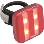 Knog Blinder 4 Stripe USB-Rechargeable Safety Light: Red LED; Red