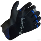 Glacier Glove Premium Cycling Glove: Black