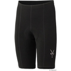 Ibex Duo Wool Cycling Short: Black