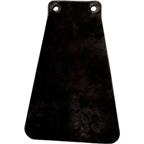 Velo Orange Handcut Leather Mud Flaps for Fender: Black