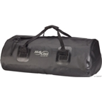 Seal Line Zip Duffle Bag: 40 Liter; Black
