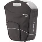 Racktime BuyIt Tote Bag / Shopping Pannier: Each; Black