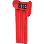 ABUS Bordo Combo Lite Foldable Lock: Red; 85cm
