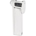 ABUS Bordo Combo Lite Foldable Lock: White; 85cm
