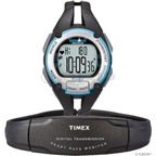 Timex Ironman Road Trainer Heart Rate Monitor: Gray/Blue