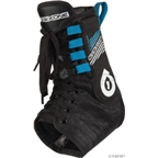 SixSixOne Racebrace Pro Protective Ankle Support: Black; SM