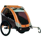 Burley D'Lite Child Trailer Orange