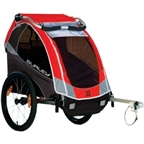 Burley Solo Child Trailer, Red