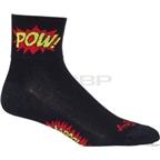 SockGuy Boom Pow Sock: Black