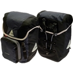 Axiom Randonee Aero 40 Pannier Set: Black