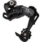 SRAM X7 10sp Long Cage Rear Derailleur Gray with Aluminum Pulley Cage