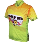World Jerseys Women's Hippy Van Cycling Jersey: Green