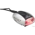 Sigma Micro LED Safety Light: Metalic Silver Body