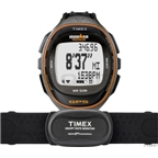 Timex Ironman Run Trainer Wrist-Worn Heart Rate and GPS Unit: Black/Orange