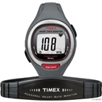 Timex Easy Trainer Heart Rate Monitor: Gray/Red