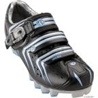 Pearl Izumi Elite MTB II Shoe: Black/Silver; Women's Euro 37