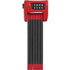 ABUS Bordo 6000 Combo Folding Lock: 90cm; Red